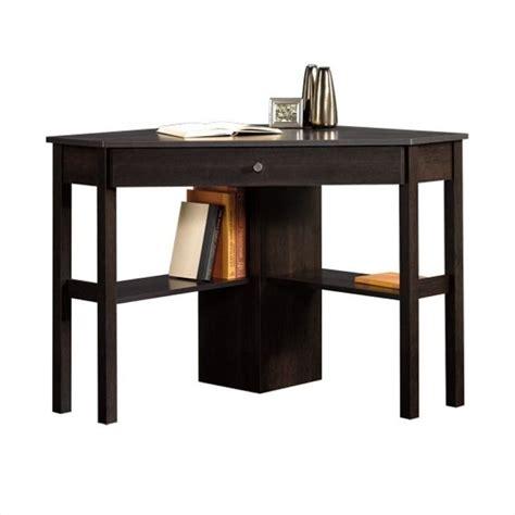 sauder corner desk walmart sauder select corner computer desk in cinnamon cherry