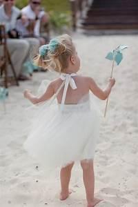 destination wedding beach flower girl dress in ivory With flower girl dress for beach wedding