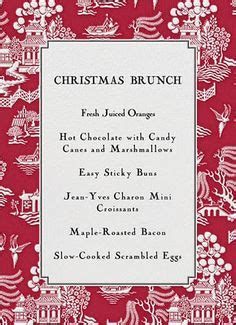 christmas morning breakfast menu 1000 images about christmas brunch on pinterest christmas brunch brunch and grits