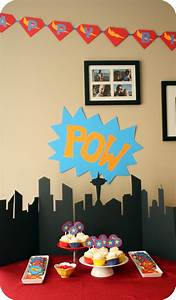Make Poster Online Free Printable Superhero Party Treats And A Free Printable