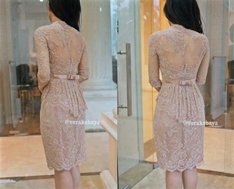 model vera kebaya dress modern modis  gaun renda