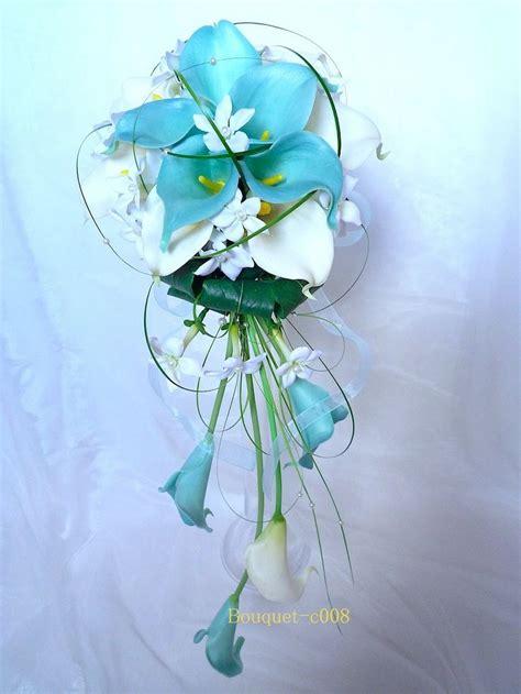 deco mariage blanc et bleu turquoise peignes 224 cheveux orchid 233 e blanc pour mariage ou c 233 r 233 monie r 233 f peigne007 mariage