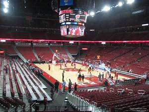 Kohl Center Wi Seating Chart Kohl Center Section 103 Rateyourseats Com