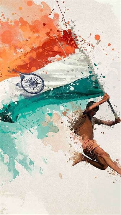 Flag Indian Independence Iphone Wallpapers Artistic Iphones