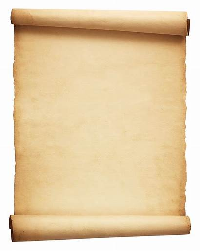 Scroll Transparent Paper Parchment Papyrus Pngpix Roll