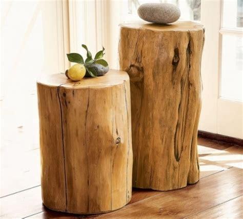 d 233 coration en bois 30 id 233 es de r 233 utiliser un tronc d arbre