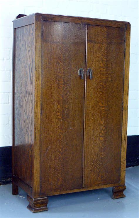 Tallboy Cupboard by 1903s Oak Panelled Tallboy Cupboard