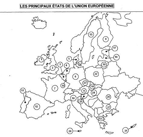 Carte Vierge De L Europe A Compléter by Carte D Europe 224 Compl 233 Ter My