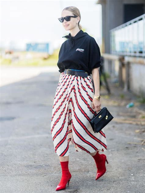 How to Wear Red Bootsu2014Plus Shop the Best Here | WhoWhatWear UK