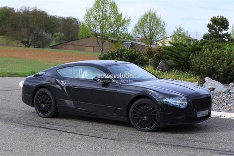 2018 Bentley Continental Gt Spied Testing In Germany