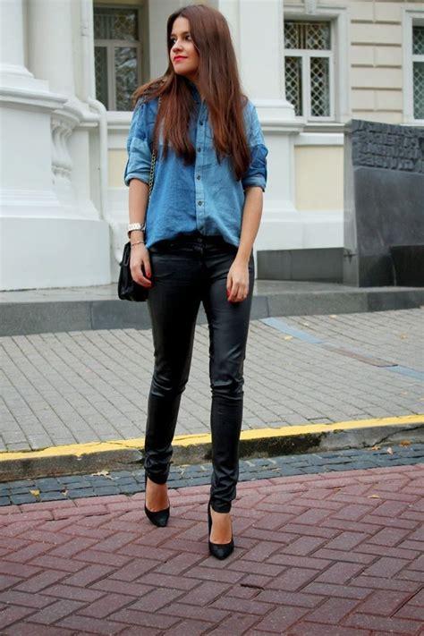 wear denim shirt  fashion trends  tips