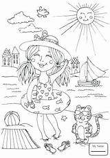 Swimming Coloring Pages Pool Colouring Printable Getdrawings Getcolorings Print Pa sketch template