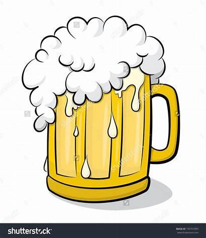 Beer Mug Clipart Glass Clip Vector Cartoon