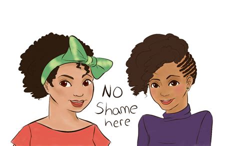 Ladies Dont Be Ashamed And Wear Your Hair El Natural