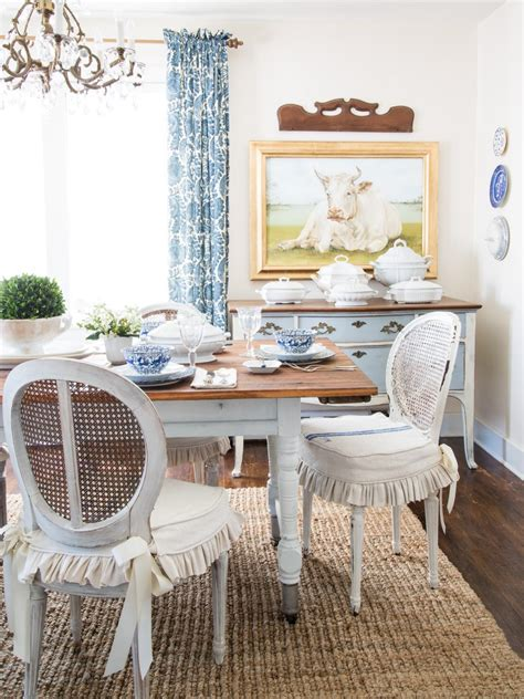 slipcovered dining room chairs how to slipcover a dining chair hgtv