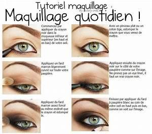 Apprendre A Se Maquiller Les Yeux : maquillage yeux simple a faire ~ Nature-et-papiers.com Idées de Décoration