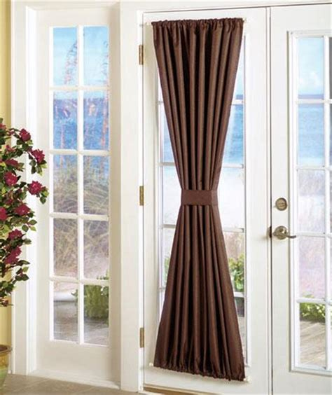 Front Door Sidelight Curtain Panels by Back Door Window Treatments Window Treatments Design Ideas