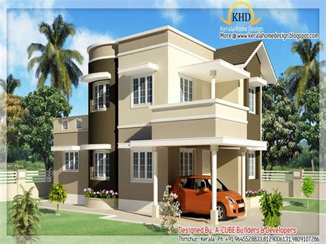Home Design 02 : Individual House Designs In India