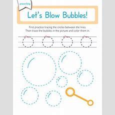 Prewriting Skills Circles  Worksheet Educationcom