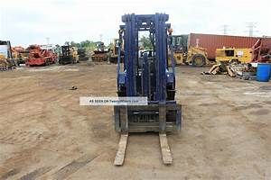 2000 Komatsu Fg40st Forklift