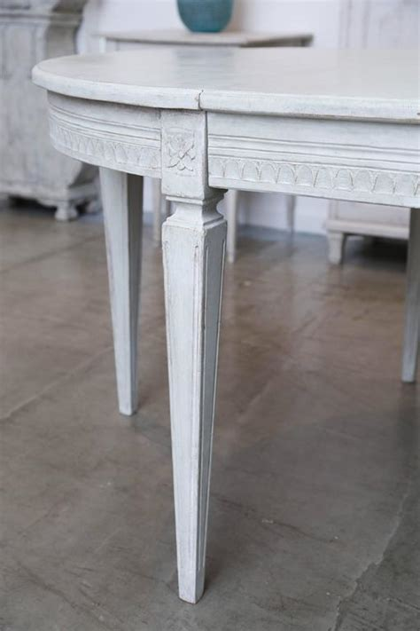 antique swedish painted dining table late  century  scandinvian antiques  living