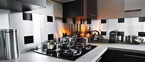 Adhesif Credence Cuisine : cr dence adh sive le relooking cuisine facile d co cool ~ Melissatoandfro.com Idées de Décoration