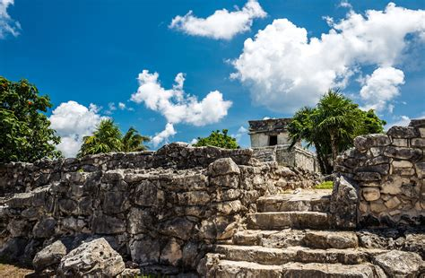 Tulum Archaeological Site in the Riviera Maya