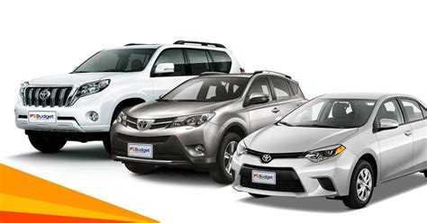 Top Quality Fleet Of Vehicles For Rent