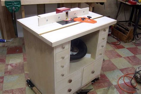 homemade router table plans  wonderful woodworking