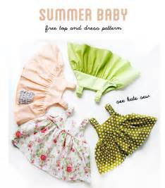 Free Easy Baby Dress Sewing Pattern