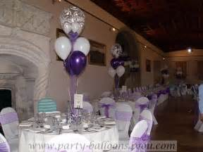 Wedding Balloon Table Decorations by Balloons Table Decorations Party Favors Ideas