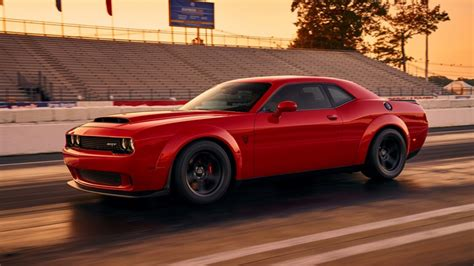 2018 Dodge Demon Leaked Image: Will It Have Over 1,000 HP