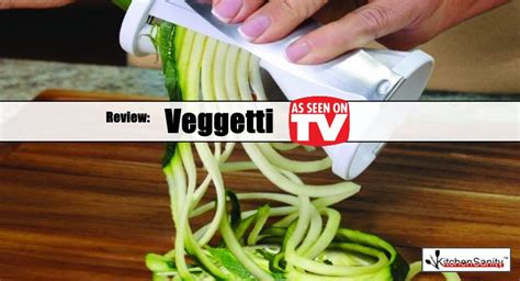 veggetti spiral vegetable cutter reviews kitchensanity