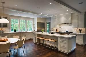 Cuisine idee deco cuisine ouverte sur salon avec clair for Idee deco cuisine avec conforama leers salle a manger