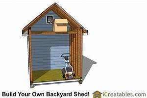 8x12 Traditional Victorian Backyard Shed Plans