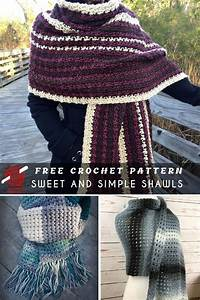 Sweet And Simple Crochet Shawls Free Patterns