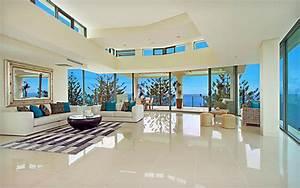 Luxury Huge Living Room Design Cool HD Wallpaper