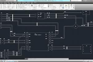 Wiring Diagram - Autocad - 3d Cad Model