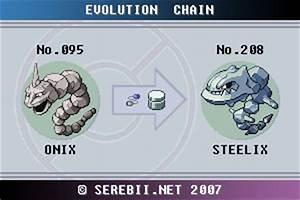 Pokemon Fire Red Evolve Chart Pokémon Of The Week Steelix