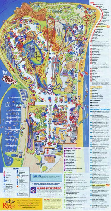 Theme Park Brochures Cedar Point - Theme Park Brochures