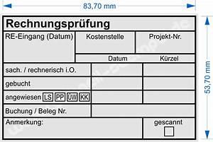 Rechnung Ohne Unterschrift : kontierungsstempel f r die buchhaltung seite 2 schnell ~ Themetempest.com Abrechnung