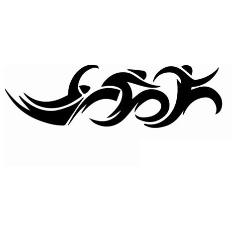 triathlon sticker logo name swimmer decal swimming posters vinyl wall decals pegatina quadro