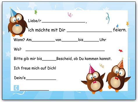 einladungskarten kindergeburtstag 9 jahre einladungskarten