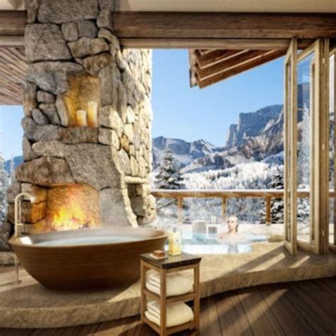 41 Impressive Chalet Bathroom Décor Ideas - DigsDigs