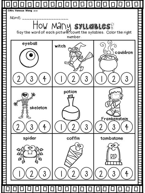 halloween activities  kindergarten math  literacy