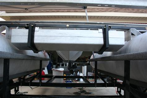Pontoon Fuel Tank by New2boating 1986 Harris Flotebote Quot I O Quot Rebuild Pontoon
