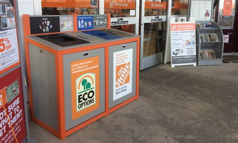 does home depot recycle batteries and lightbulbs home