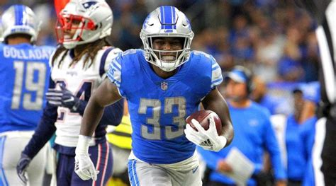 kerryon johnson  height weight body stats nfl career