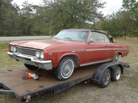 1965 Buick Skylark Convertible For Sale by 1965 Buick Skylark Convertible Parts Car For Sale Photos