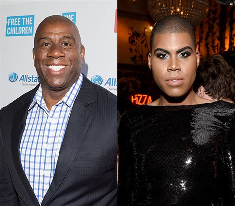 Magic Johnson Opens Up About Supporting His Gay Son, Ej